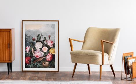 Retro róże ogrodowe