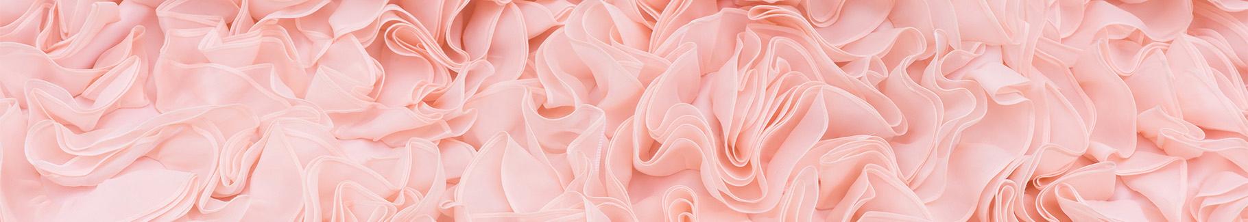 Różowa fototapeta do restauracji
