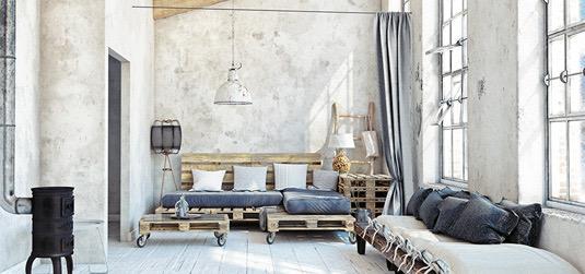 Urządzamy salon w stylu loft – sprawdź nasze aranżacje!