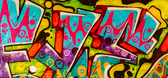 Ściana graffiti