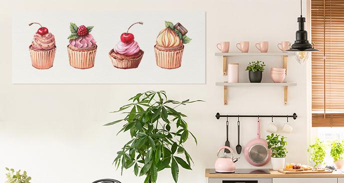 Słodki obraz do kuchni