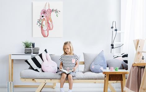 Taneczny obraz do pokoju dziecka