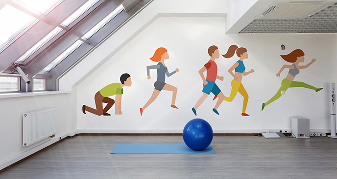 Tapeta dziecięcy wyścig