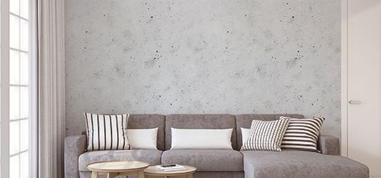 Tapeta imitacja betonu – 6 wzorów, które robią naturalne wrażenie
