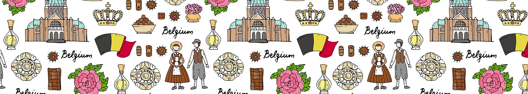 Tapeta inspirująca Belgia