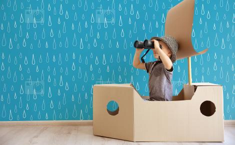 Tapeta krople wody