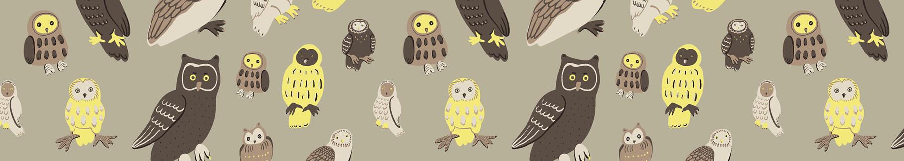 Tapeta leśne ptaki dla nastolatka