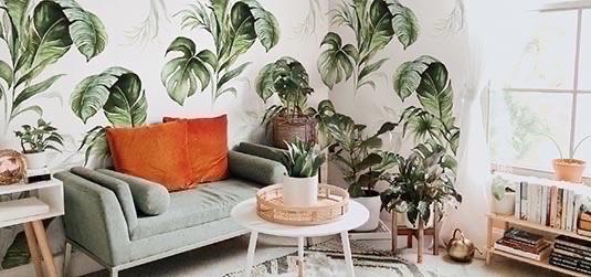 Marzy Ci się piękna roślinna tapeta? Monstery będą strzałem w 10!