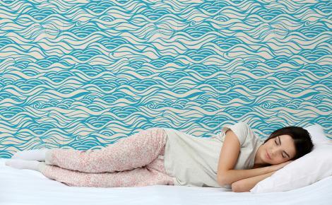 Tapeta morskie fale do sypialni