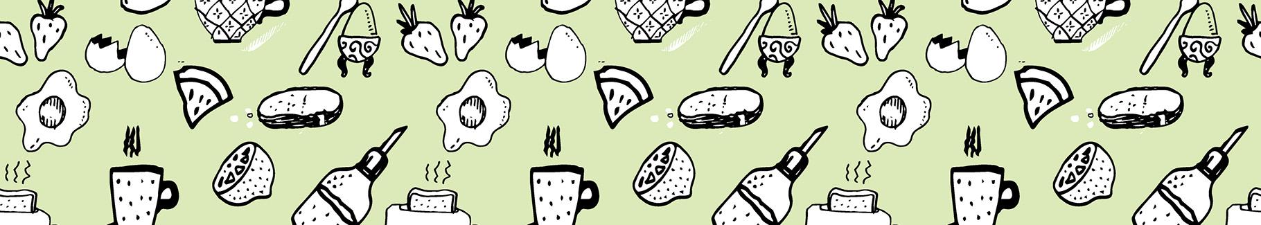 Tapeta pyszne śniadanie