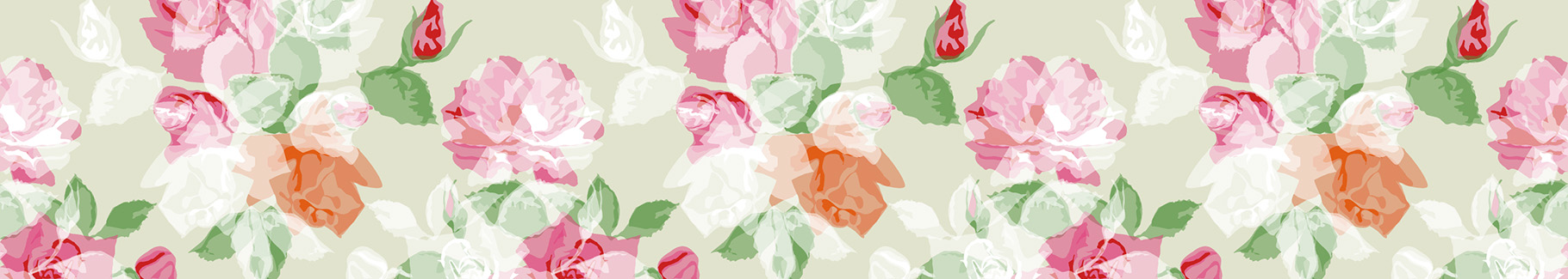 Tapeta romantyczne róże