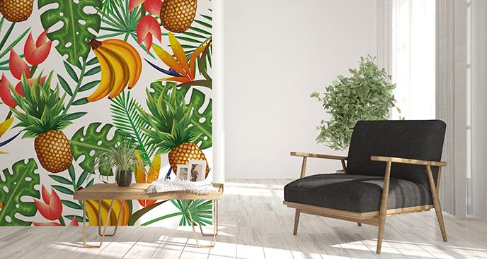 Tapeta tropikalne owoce