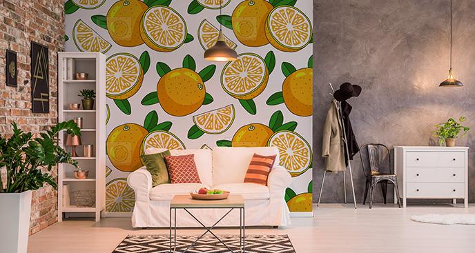Tapeta w pomarańcze
