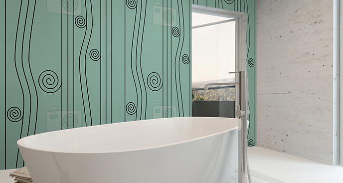 Tapeta wodospad minimalistyczny