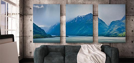 Fotoobrazy - arcydzieła do salonu i sypialni