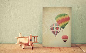 Vintage-obraz do pokoju dziecka