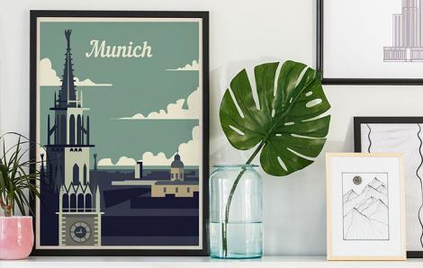 Wieza w Monachium kadr