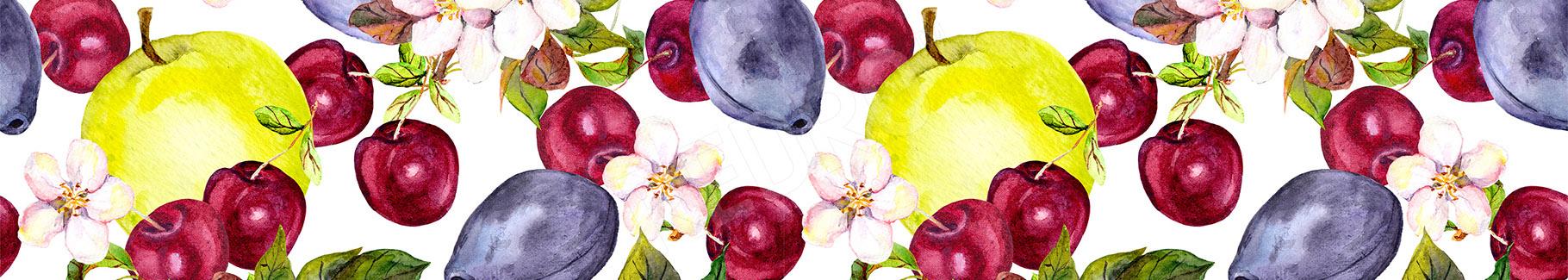 Obraz owocowy deseń