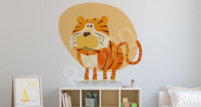 Zwierzęca naklejka dla dzieci